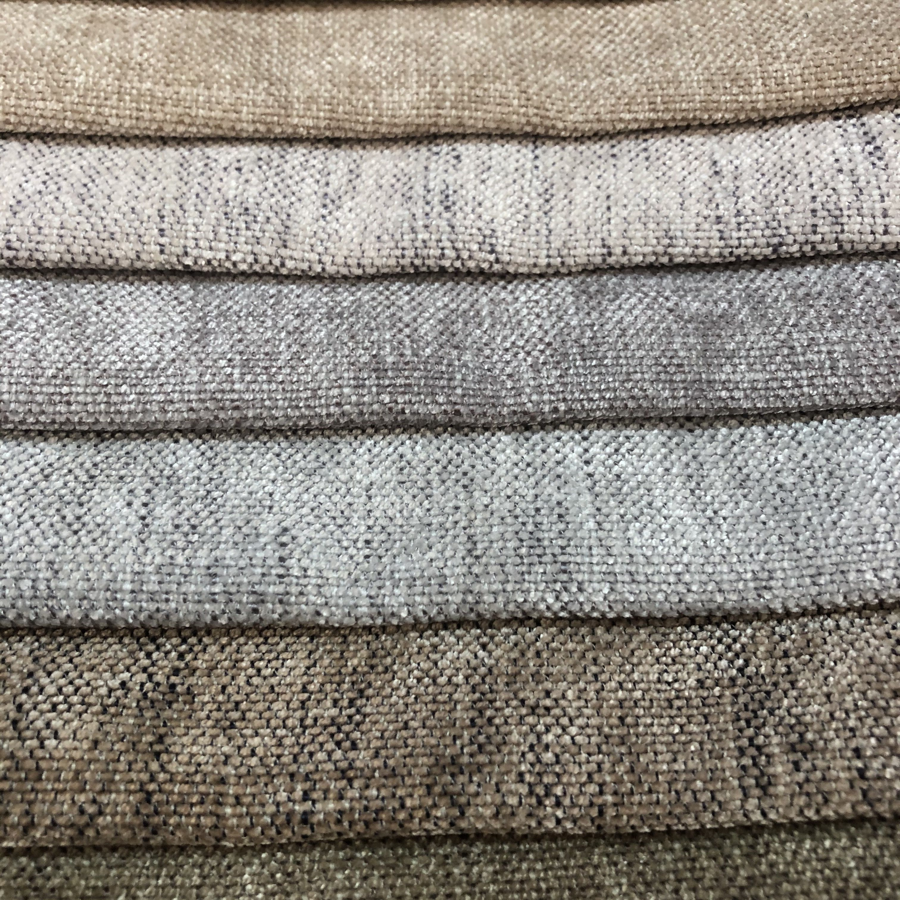 Wholesale Soft Touching Linen Upholstery Jacqurad Sofa Fabric